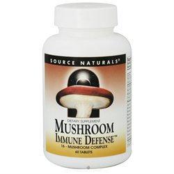 Source Naturals Mushroom Immune Defense, Tablets, 60 ea