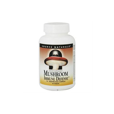 Source Naturals Mushroom Immune Defense, Tablets, 60 ea