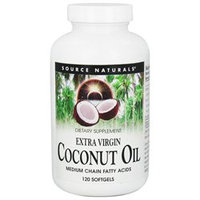 Source Naturals Extra Virgin Coconut Oil Softgels