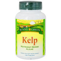 Solaray Kelp - 120 Tablets - Other Green / Super Foods