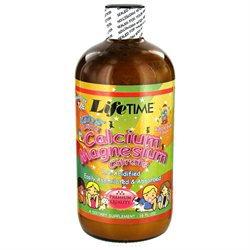 Lifetime Kids' Liquid Calcium Magnesium Citrate Bubble Gum - 16 fl oz