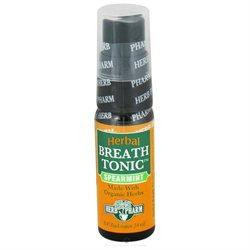 Herb Pharm - Herbal Breath Tonic Spearmint - 14 ml.