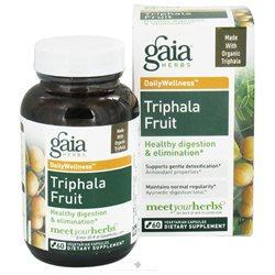 Gaia Herbs DailyWellness Triphala Fruit - 60 Vegetarian Capsules