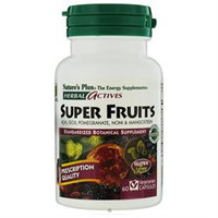 Herbal Actives Super Fruits Nature's Plus 60 VCaps