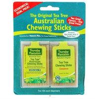 Thursday Plantation - The Original Australian Tea Tree Chewing Sticks Toothpicks Twin Pack Special Cinnamon Flavor Original - 200 Sticks