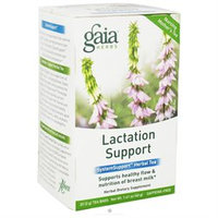 Gaia Herbs SystemSupport Lactation Support - 20 Tea Bags