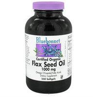 Bluebonnet Nutrition - Flax Seed Oil 1000 mg. - 250 Softgels