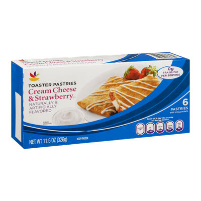 Ahold Toaster Pastries Cream Cheese & Strawberry - 6 CT