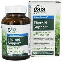 Gaia Herbs Thyroid Support, 100% Vegetarian, Liquid-Filled Capsules