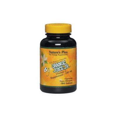 Nature's Plus Orange Juice Jr. 100 MG - 180 Chewable Tablets - Vitamin C