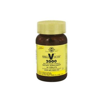 Solgar - Formula VM 2000 Multinutrient Formula - 60 Tablets