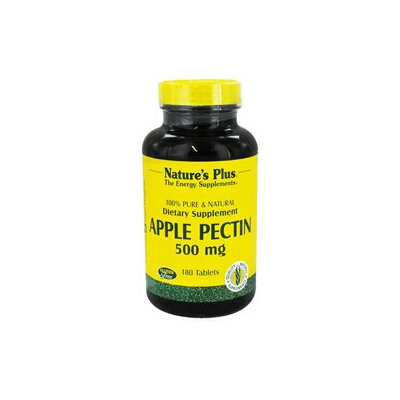Nature's Plus - Apple Pectin 500 mg. - 180 Tablets