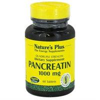 Nature's Plus Pancreatin - 1000 mg - 60 Tablets