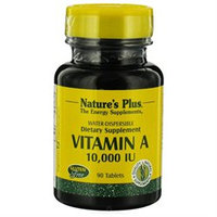 Nature's Plus Vitamin A 10000 IU - 90 Tablets - Vitamin A