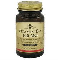 Solgar - Vitamin B6 100 mg. - 100 Tablets