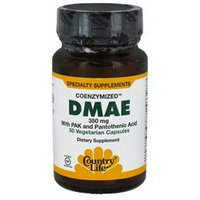 Country Life Coenzymized DMAE - 350 mg - 50 Vegetarian Capsules