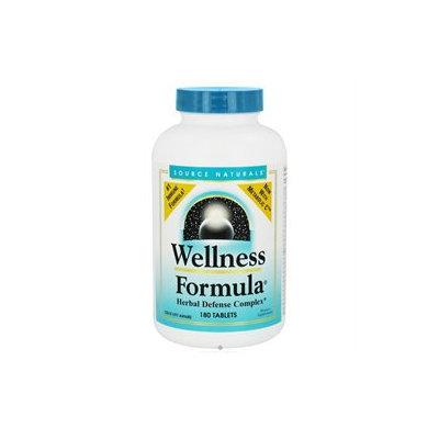 Source Naturals Wellness Formula, Tablets, 180 ea