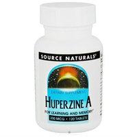 Source Naturals Huperzine A - 200 mcg - 120 Tablets