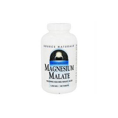 Source Naturals Magnesium Malate 1250mg 180 tablets