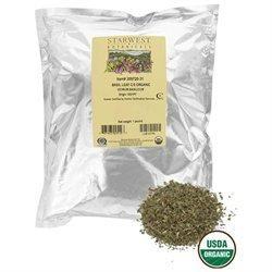 Starwest Botanicals - Bulk Basil Leaf C/S Organic - 1 lb.