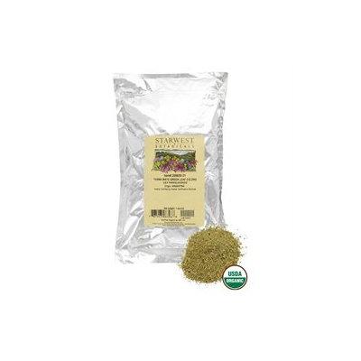 Starwest Botanicals - Bulk Yerba Mate Green Leaf C/S Organic - 1 lb.