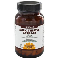 Country Life Milk Thistle Extract 200 mg VCaps