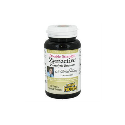 Natural Factors Zymactive Double Strength - 90 Enteric-Coated Tablets