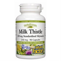 Natural Factors Milk Thistle Extract - 250 mg - 90 Capsules