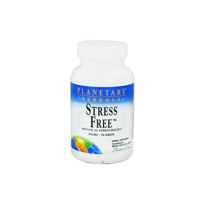 Planetary Formulations Stress Free - 150 Tablets