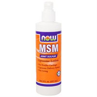 NOW Foods - MSM Liposome Lotion - 8 oz.