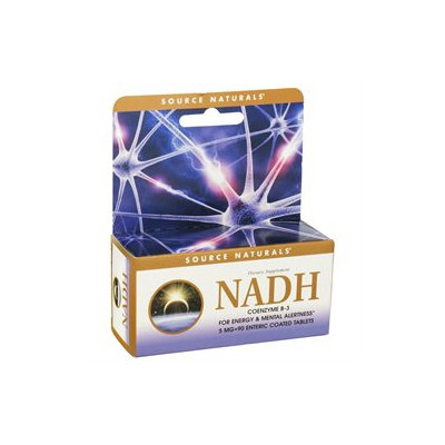 Source Naturals NADH - 5 mg - 90 Tablets