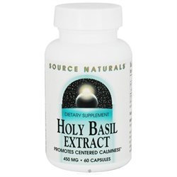 Source Naturals - Holy Basil Extract 450 mg. - 60 Capsules