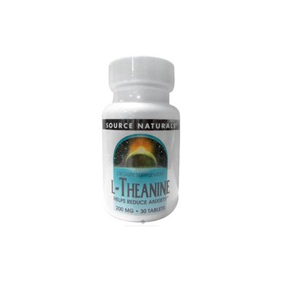 Source Naturals L-Theanine - 200 mg - 30 Tablets