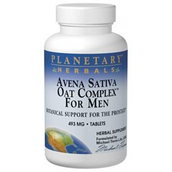 Planetary Formulations Avena Sativa Oat Complex/Men 492 MG - 100 Tablets - Male Intimacy Herbs