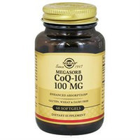 Solgar - Megasorb CoQ-10 100 mg. - 60 Softgels