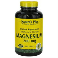 Magnesium 200 mg 180 Tablets from Nature's Plus