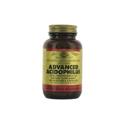 Solgar Advanced Acidophilus - 100 Vegetable Capsules