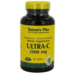 Nature's Plus - Ultra-C with Rose Hips Sustained Release 2000 mg. - 90 Tablets