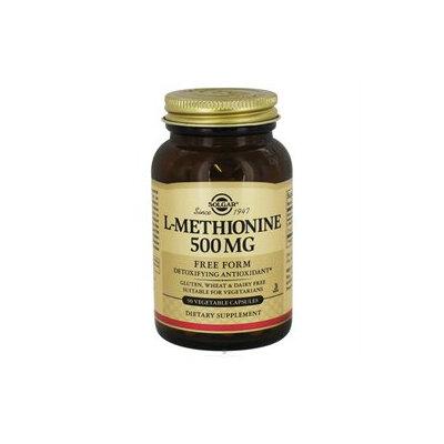 Solgar L-Methionine - 500 mg - 90 Vegetable Capsules