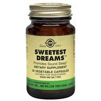 Solgar - Sweetest Dreams - 30 Vegetarian Capsules [Health and Beauty]