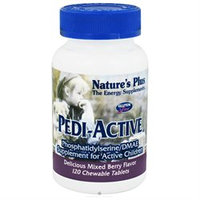 Nature's Plus Pedi-Active - 120 Chewable Tablets