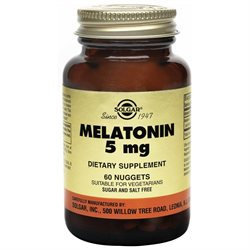 Solgar - Melatonin 5 mg. - 60 Nuggets