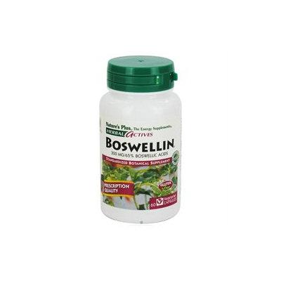 Nature's Plus - Herbal Actives Boswellin 300 mg. - 60 Vegetarian Capsules