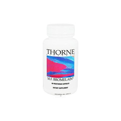 Thorne Research - M.F. Bromelain 1000 mg. - 60 Vegetarian Capsules