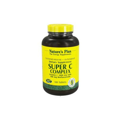 Nature's Plus Super C Complex Sustained Release - 180 Tablets