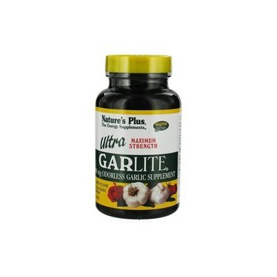 Nature's Plus - Ultra Garlite Sustained Release 1000 mg. - 90 Tablets