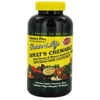 Nature's Plus - Source Of Life Adult's Chewable Apple Cinnamon - 90 Wafers