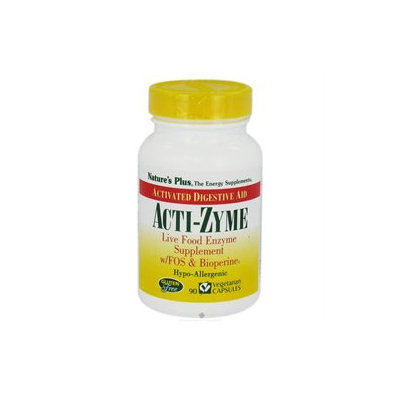 Nature's Plus Acti-Zyme - 90 Vegetarian Capsules