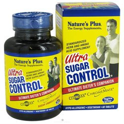 Nature's Plus Ultra Sugar Control - 60 Tablets