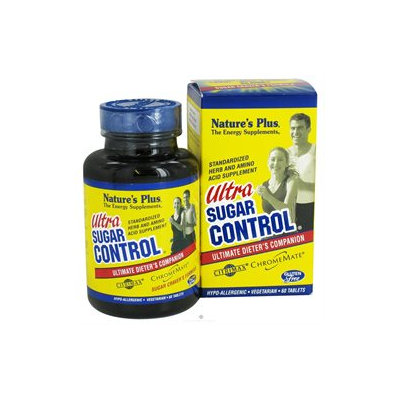 Nature's Plus Ultra Sugar Control - 60 Tablets